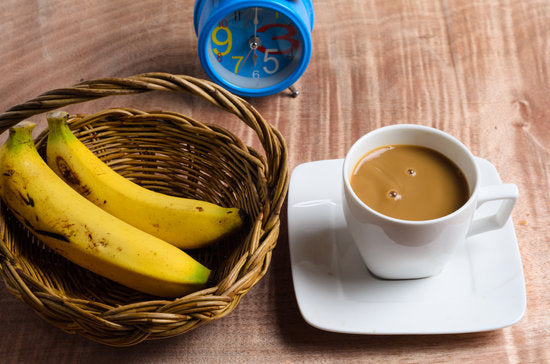 banana latte, vegan, dairy-free, tasty, recipe,coffee