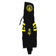 Ganja Farmer Pullover - Black & Yellow