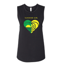Women's Sunshine Girl Tank - Black