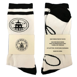 Signature Socks - Black & White