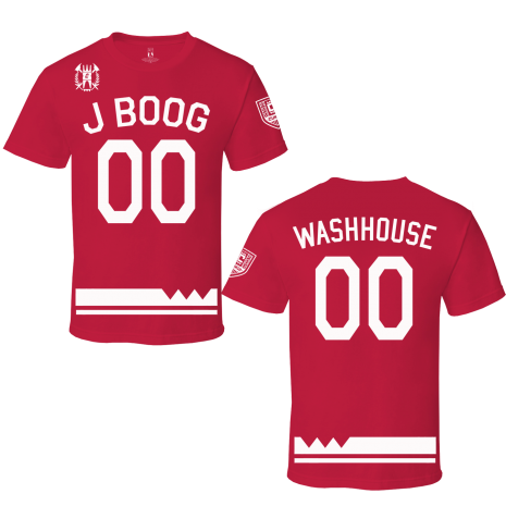 Red 00 Jersey Tee
