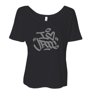 I Love J Boog Tee - Black (women's)