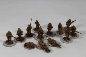 Imperial Japanese Army Infantry Squad WW2 Late War