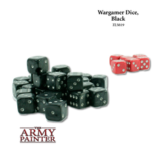 Wargamer Dice Black