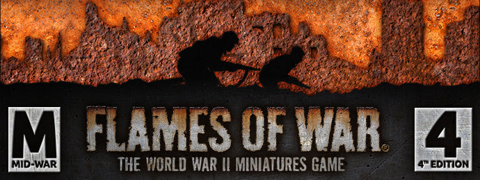 Mid Year Madness: Mid War Flames of War 25 August 2018