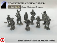 Infected Zombie Group 1 - ZM-0001