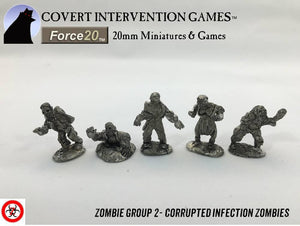Infected Zombie Group 2 - ZM-0002