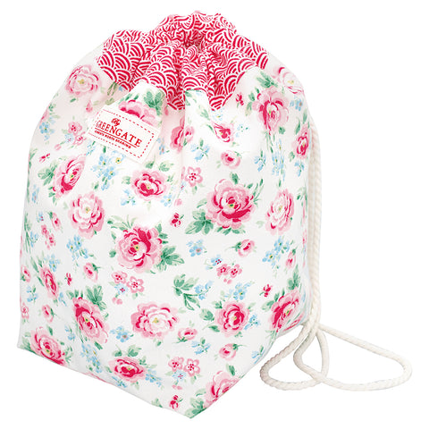 Bucket bag Meryl white