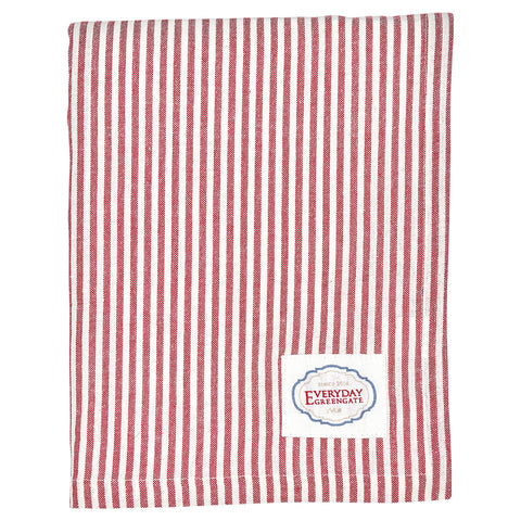 Tafelkleed Alice stripe red
