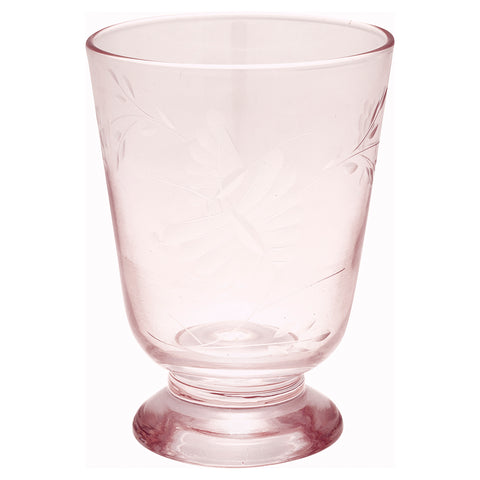 Waterglas Clear pink