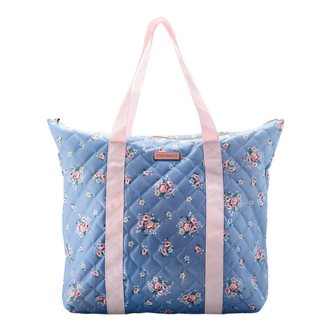 Weekendtas Nicoline dusty blue
