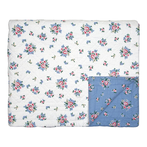 Quilt Nicoline dusty blue