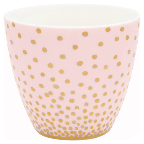 Beker Gold Spot Peach