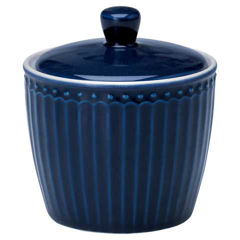 Suikerpot Alice dark blue