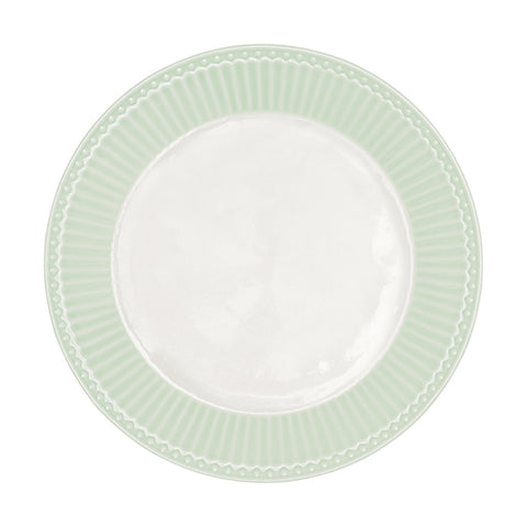 Dinerbord Alice pale green