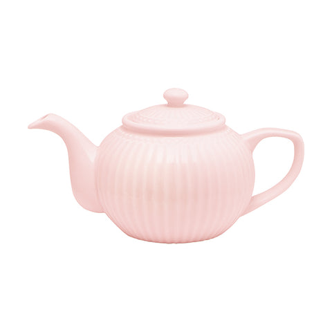 Theepot Alice pale pink