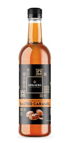 Arkadia Salted Caramel Syrup 750ml