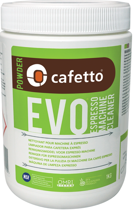 Cafetto EVO Organic Espresso Machine Cleaner 1kg