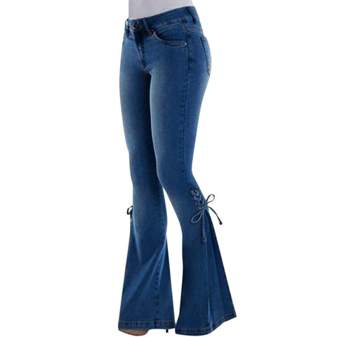 Women's Plus Size Flare Pants