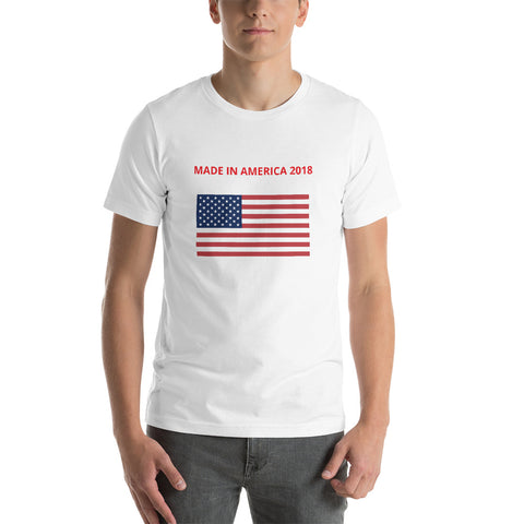 MADE IN AMERICA Short-Sleeve Unisex T-Shirt