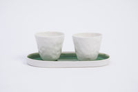 632 | 2 mugs set on MAI tray
