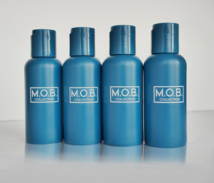Get beach ready with M.O.B. Collection travel bottles