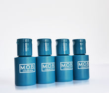 Load image into Gallery viewer, Take M.O.B. Collection Looking Fresh travel bottles on the go from business trips and on holiday or to festivals and the gym