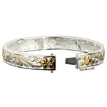 Hawaiian Jewelry Scroll See Through Open Bangle