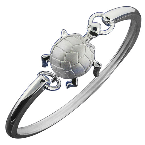Hawaiian Jewelry Turtle Moving Open Bangle