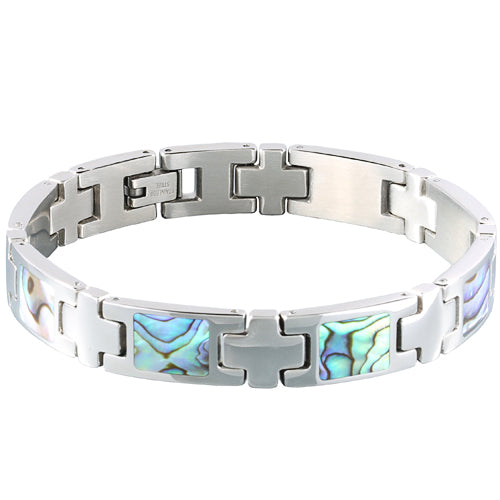 Abalone Inlay Bracelet