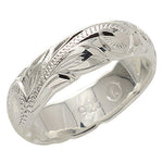 6mm Heavy Weight(1.7mm) Scroll Cut Out Edge Ring