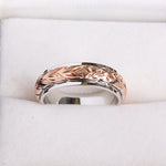 hawaiian heirloom ring silver scroll ring