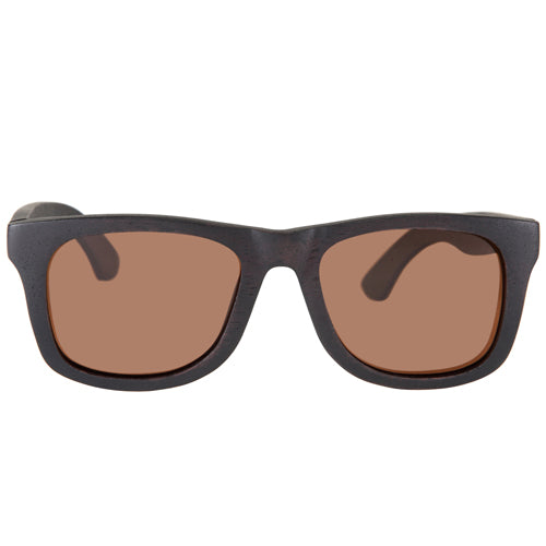Black Sandalwood Sunglasses Rectangle Frame with nose
