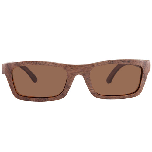 Walnut Sunglasses Rectangle Shape