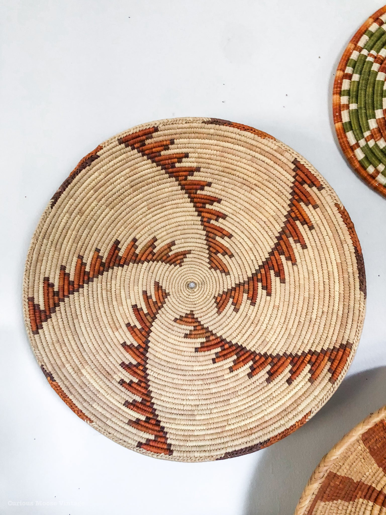 Curated African Wall Baskets