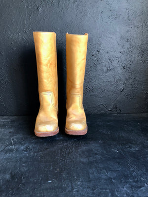 Frye Campus Light Tan Boots Women's Size 6.5