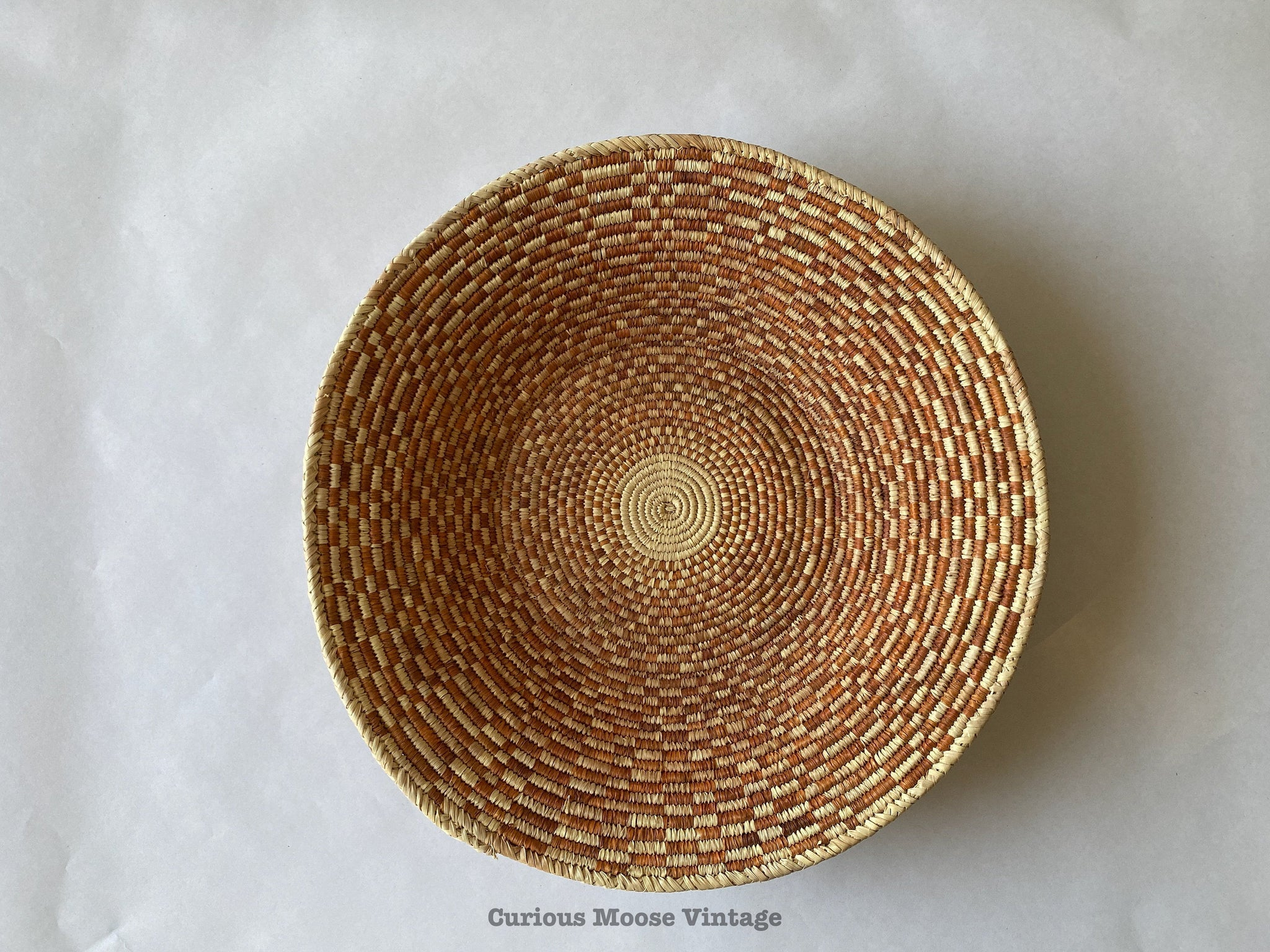 "15"" inch African Botswana ""Roof of Rondavel"" Design."