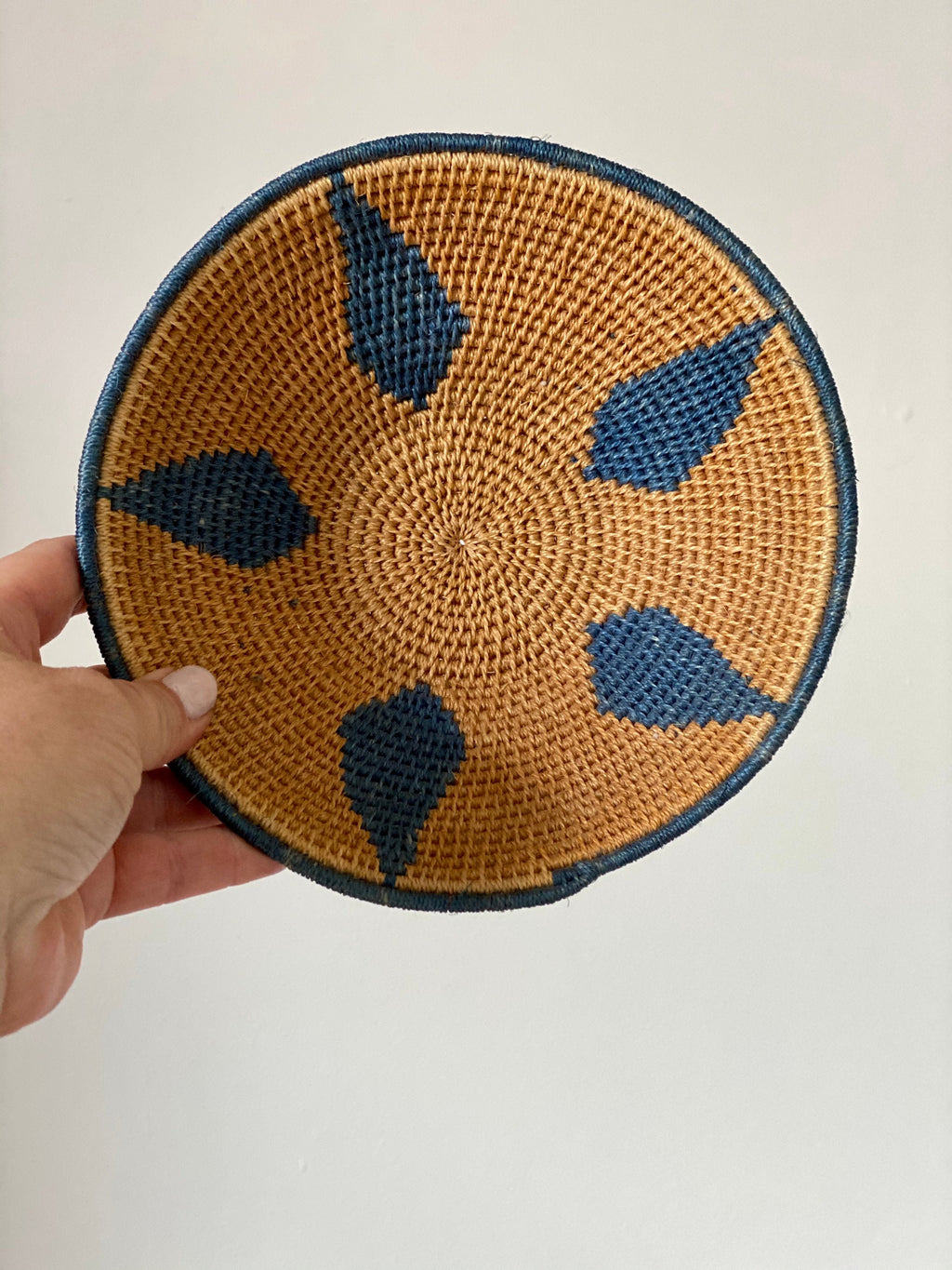 African Wall Basket