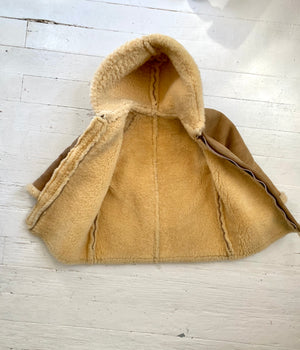 Sheepskin Shearling Kids Coat