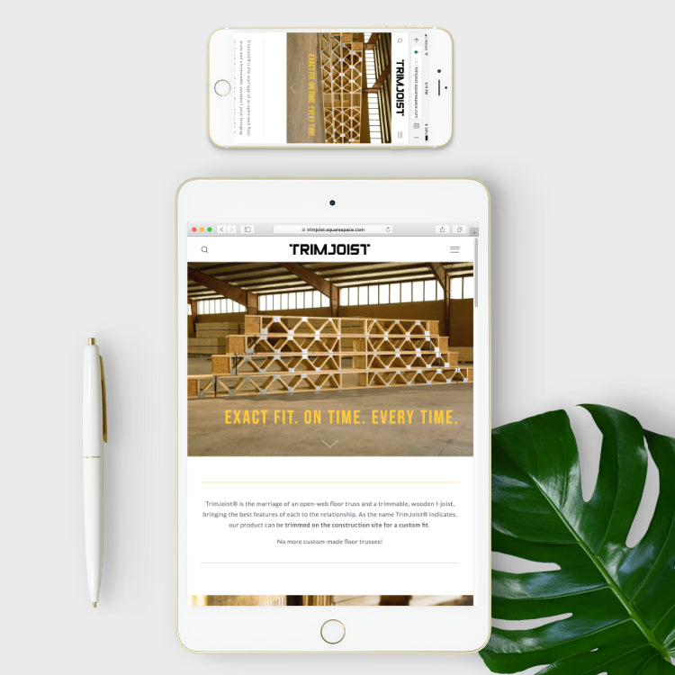 trimjoist and skyler and co website 2