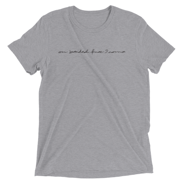 On Bended Knee I Come - Gray Tee