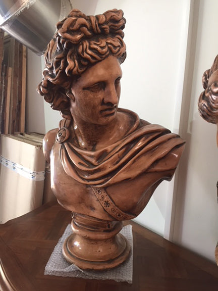 Apollo Bust----SOLD