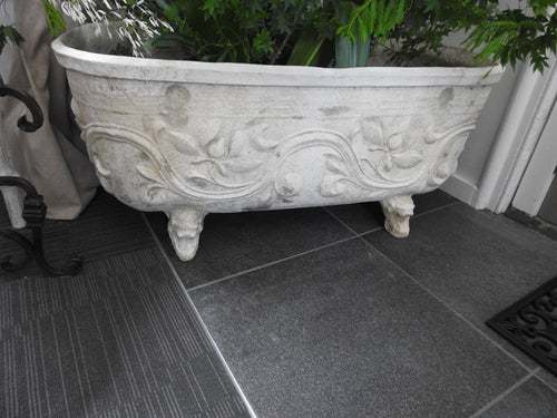 French Decorative Tub