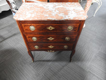 Pink Marble Top Drawers---SOLD