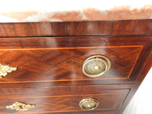 Pink Marble Top Drawers