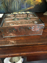Antique French Copper Money box