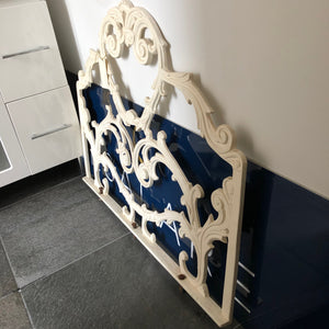Wrought iron Bed head and end