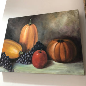 """Fruita"" Original  still life painting by Linda Haines"