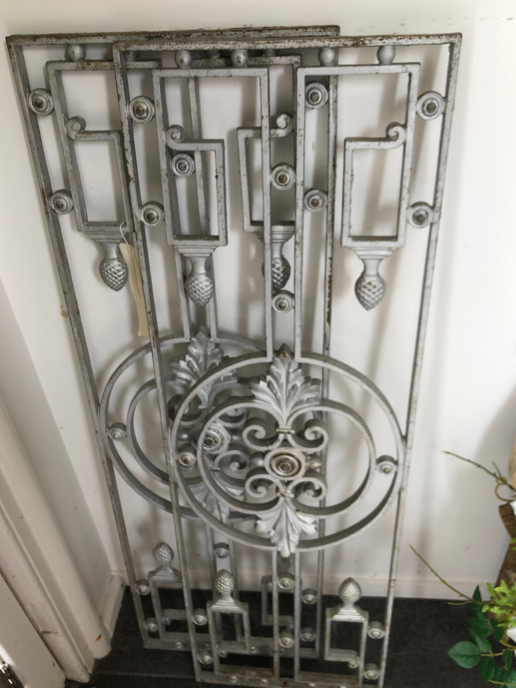French Wrought Iron Grilles