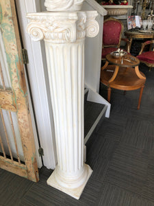 Crushed Marble Pillar-second-----SOLD